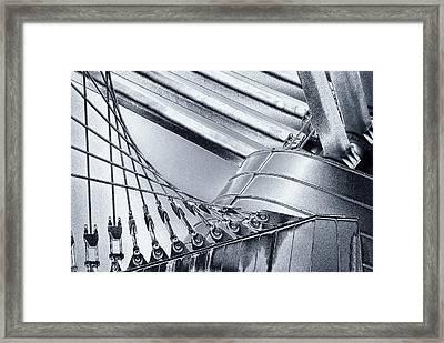 Milwaukee Art Framed Print by Jack Zulli