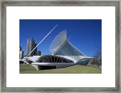 Milwaukee Art Museum - Calatrava Framed Print by James Hammen