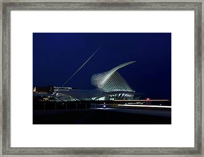 Milwaukee Art Museum Framed Print by Chuck De La Rosa