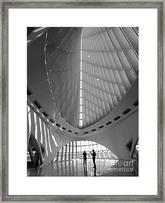 Milwaukee Art Museum Framed Print by David Bearden