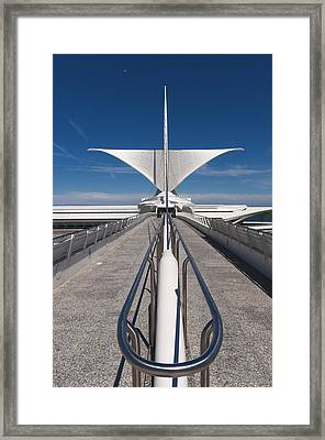 Milwaukee Art Museum Framed Print