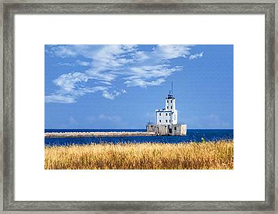 Milwaukee Breakwater Framed Print