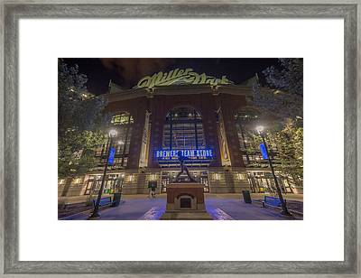 Milwaukee Brewers Miller Park 2 Framed Print