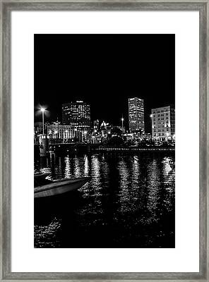 Milwaukee Downtown Third Ward Framed Print