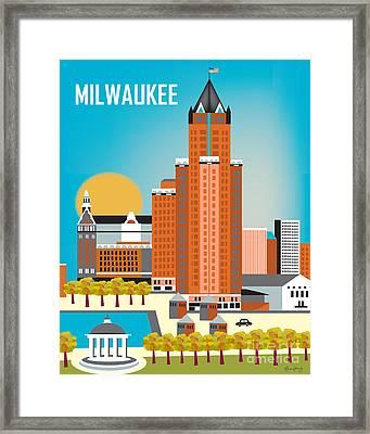 Milwaukee Framed Print by Karen Young
