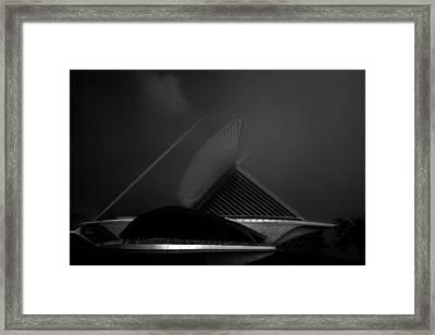 Milwaukee Wisconsin Museum Of Art Framed Print by David Haskett