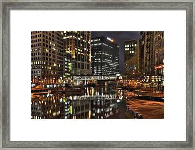 Milwaukee River Framed Print