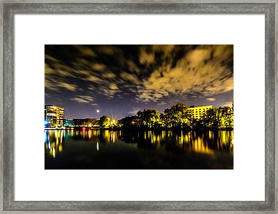 Milwaukee Riverwalk Framed Print