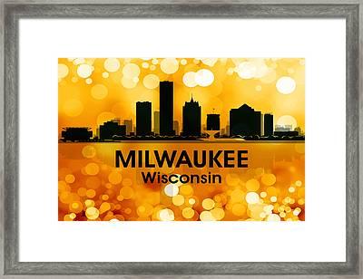 Milwaukee Wi 3 Framed Print by Angelina Vick