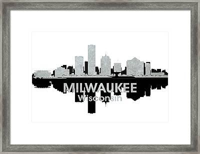 Milwaukee Wi 4 Framed Print by Angelina Vick