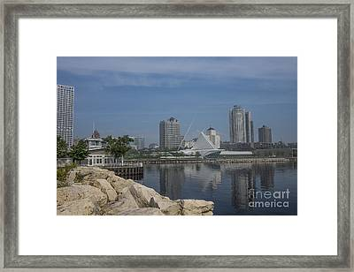 Milwaukee Wisconsin Framed Print by David Haskett