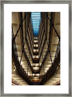 Milwaukee's City Hall Framed Print