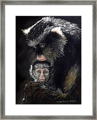 Mimi And Zuri Framed Print