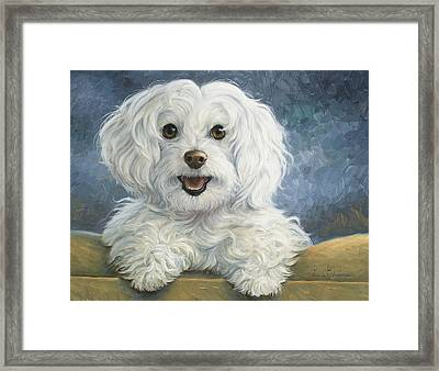 Mimi Framed Print by Lucie Bilodeau