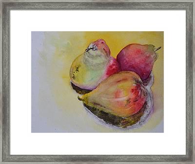 Mimi's Harvest Framed Print by Beverley Harper Tinsley