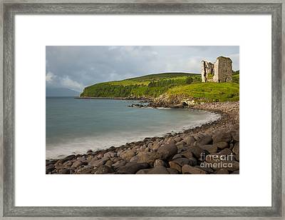 Minards Castle, Dingle Peninsula Framed Print by John Shaw