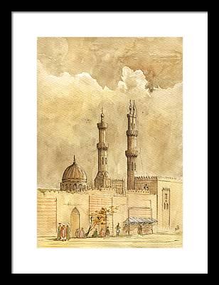 Minaret Framed Prints