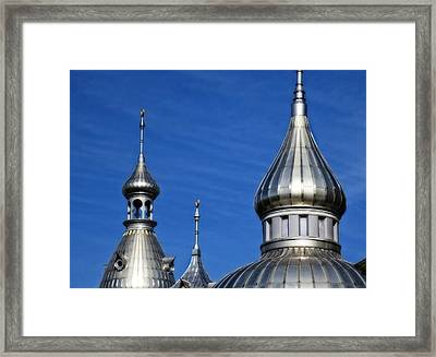 Minarets Of Tampa - Photography By Sharon Cummings Framed Print
