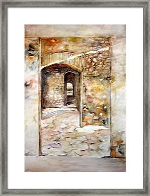 Minas De Corrales Framed Print
