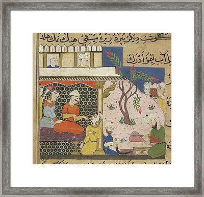 Mince Being Prepared Framed Print by British Library