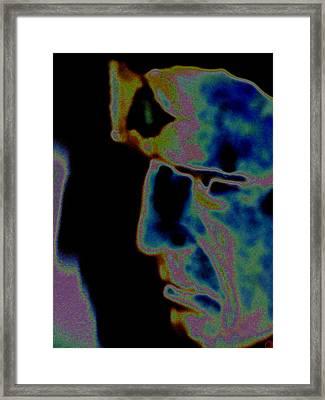 Mind Blowing Framed Print by Rebecca Flaig