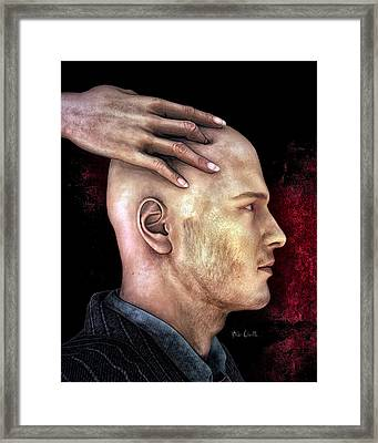 Mind Control Framed Print