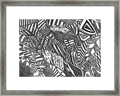 Mind  Full Of Miracles Framed Print