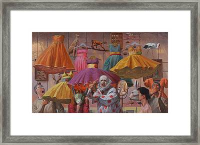 Mind Games Framed Print by Alfredo Arcia