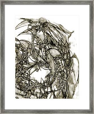 mind Games Framed Print by David Walker