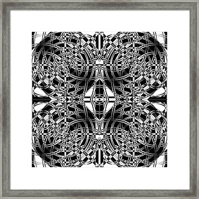 B W Sq 10 Framed Print by Mike McGlothlen