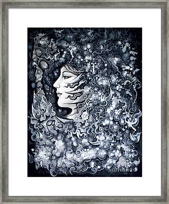 Mind Framed Print by Kritsana Tasingh