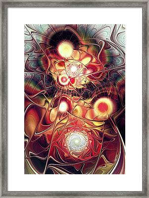 Mind Meld Framed Print by Anastasiya Malakhova