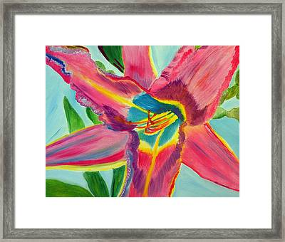 Framed Print featuring the painting Mind Wide Open by Meryl Goudey