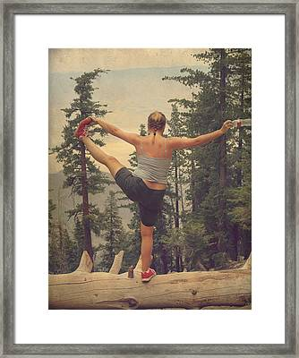 Mindbody Framed Print by Laurie Search
