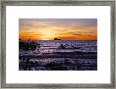 Mindil Beach Sunset Framed Print by Venetia Featherstone-Witty