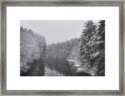 Mine Falls Park - Nashua New Hampshire Framed Print by Joann Vitali