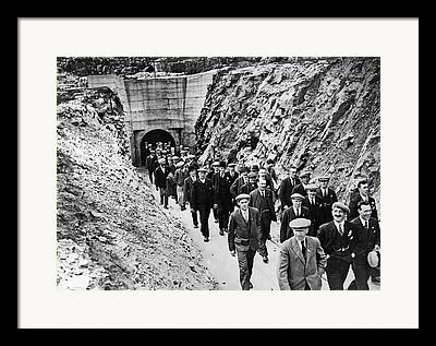 Mines And Miners Framed Prints