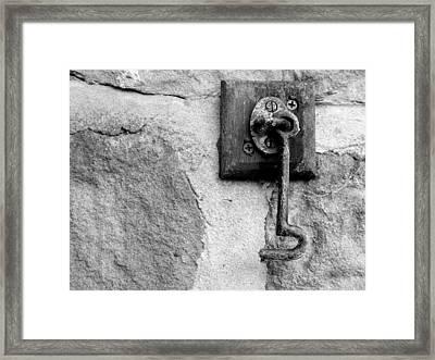 Minera Latch Framed Print