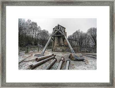Minera Lead Mines Framed Print by Adrian Evans