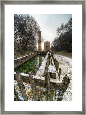 Minera Mines Framed Print by Adrian Evans