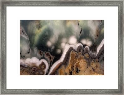 Mineral Assemblages Framed Print by Leland D Howard