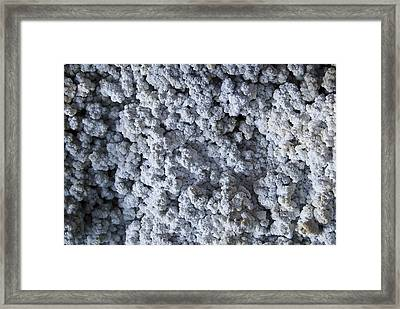 Mineral Texture Framed Print by Pablo Romero