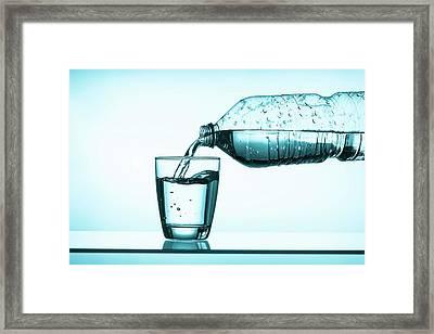 Mineral Water Framed Print by Wladimir Bulgar