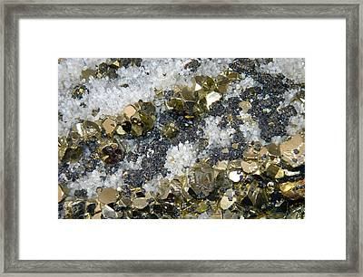 Minerals 4 Framed Print by T C Brown