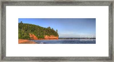 Miners Beach Framed Print