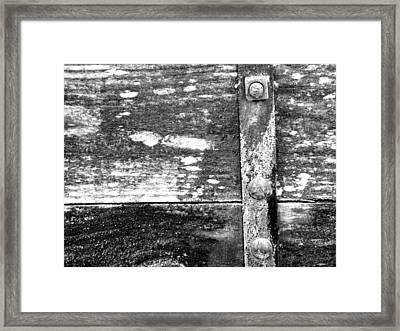 Miners Box Framed Print