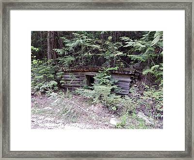 Miners Cabin British Columbia Framed Print by Reb Frost