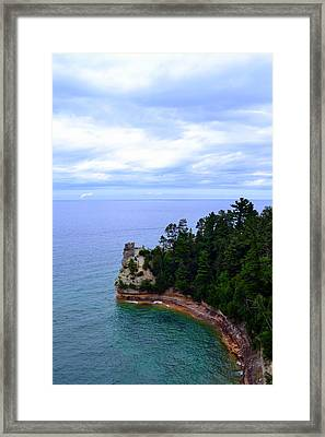 Miner's Castle Framed Print