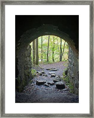 Miners View Framed Print by David Troxel