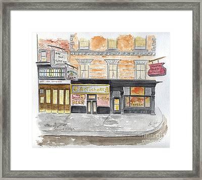 Minetta Tavern  Greenwich Village Framed Print